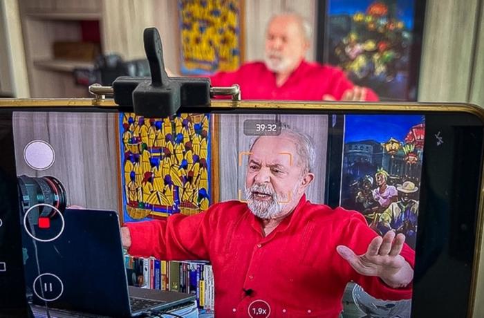 Lula entrevista