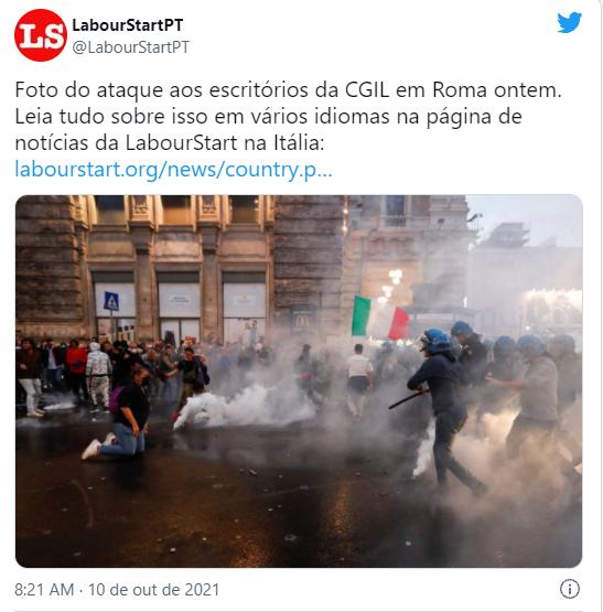 Ataque na Itália