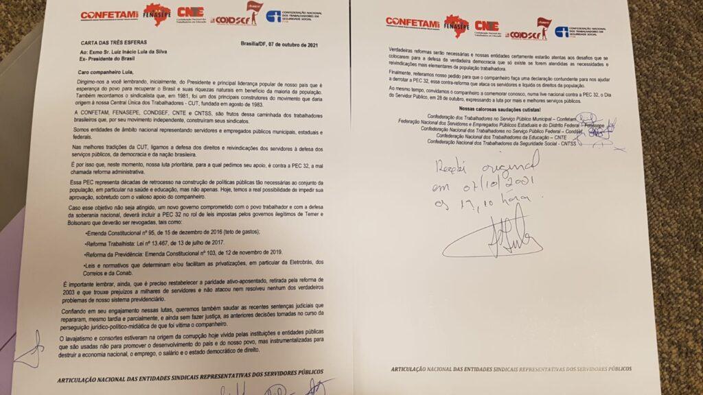 Carta a Lula-1